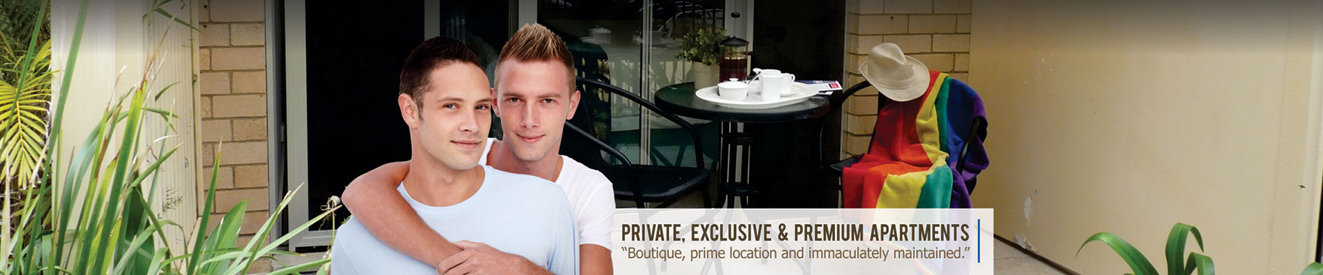 Private, exclusive and premium apartments